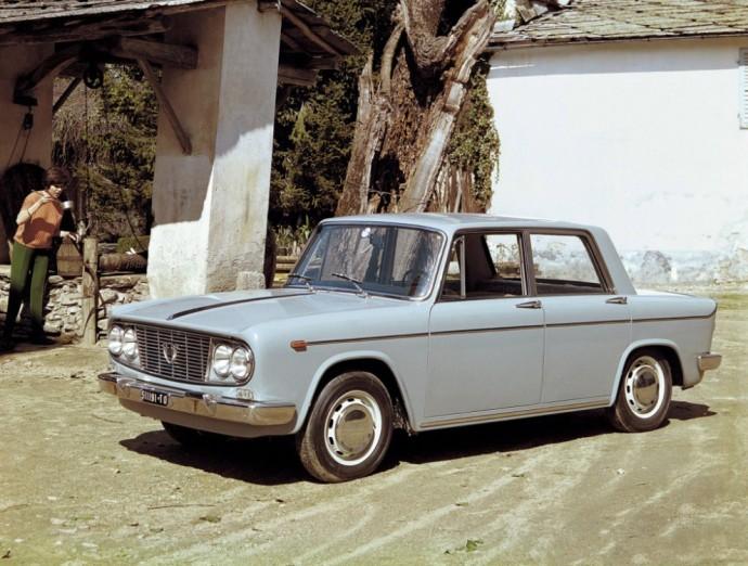 Pirmos kartos Lancia Fulvia sedanas