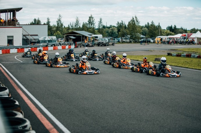 Baltic Karting Academy pirmasis etapas
