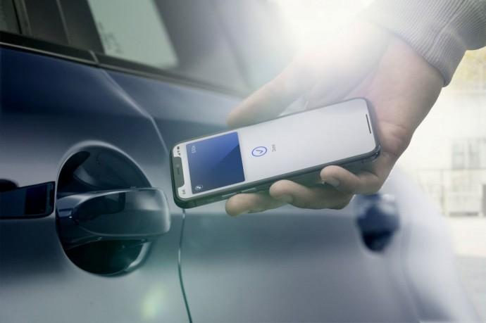 Apple technologijos padės atrakinti automobilį