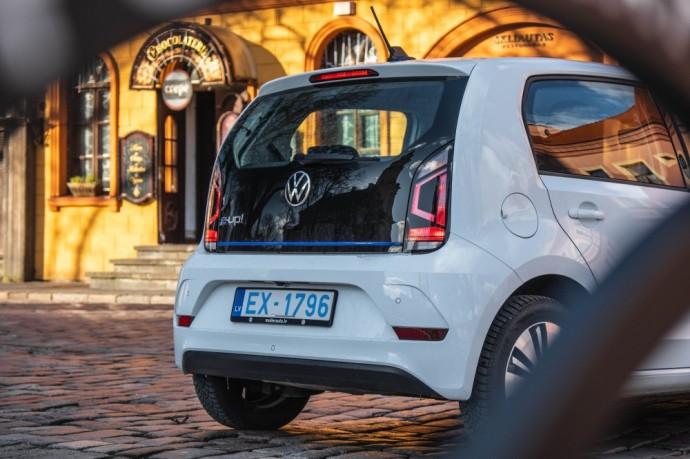 Volkswagen e-Up apžvalga