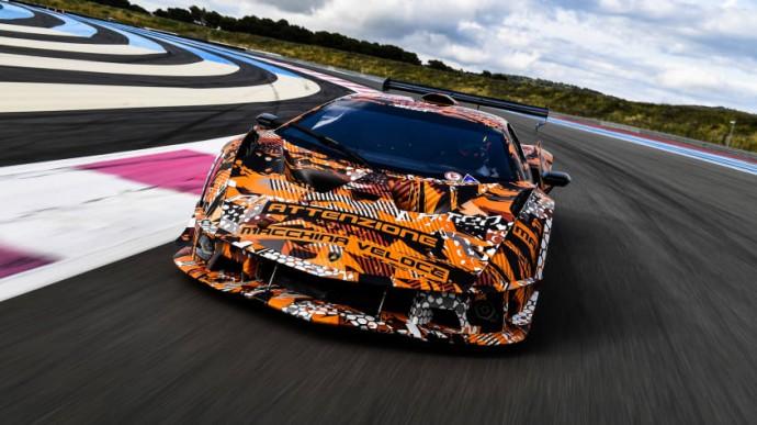 Ribotos laidos Lamborghini SCV12