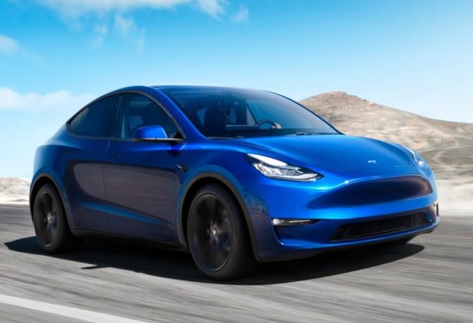 Elektrinis Tesla visureigis