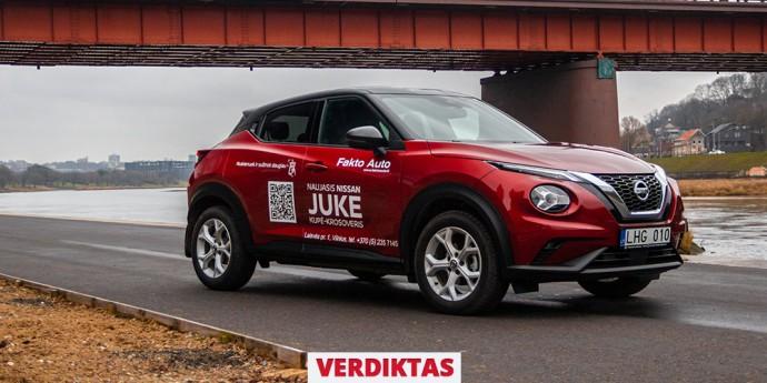 Atsiliepimas apie Nissan Juke