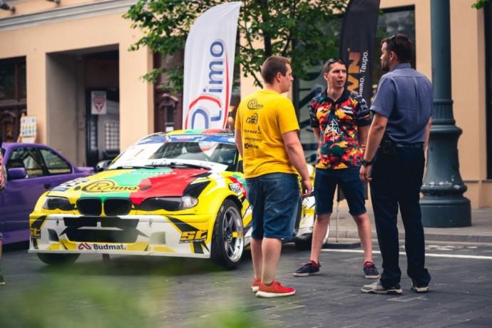 Aurum 1006 km lenktynių atidarymas Vilniuje