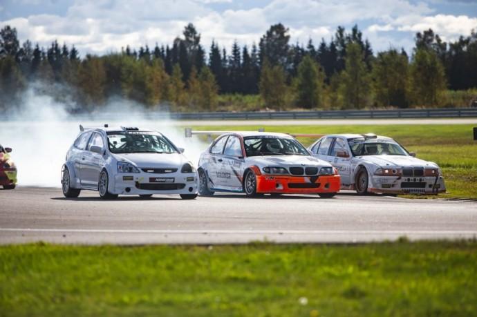 Baltic Touring Car Championship čempionato akimirka