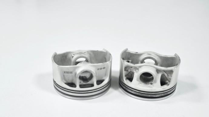 Porsche 3D spausdintuvu sukurti stūmokliai