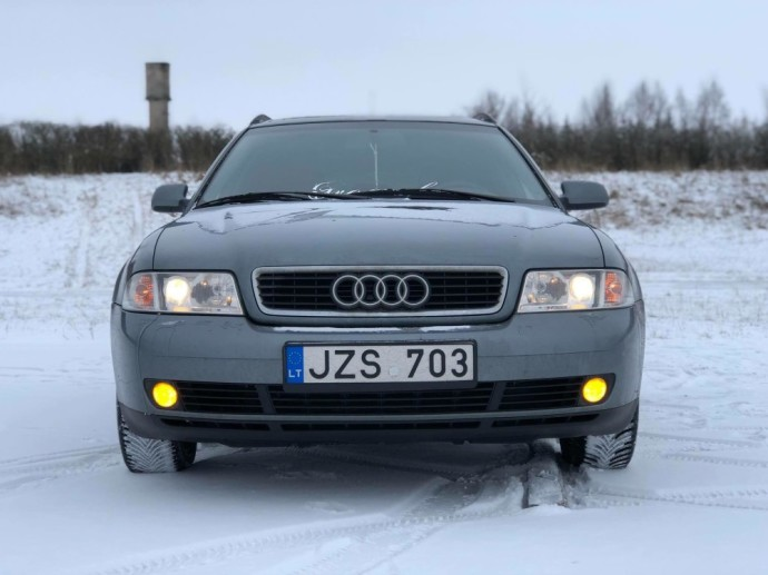 Modifikuota Audi A4