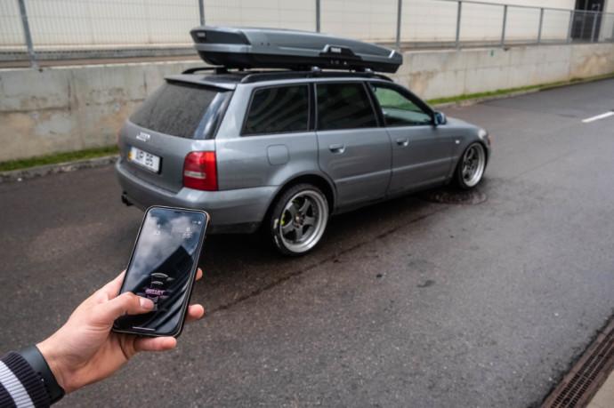 Modifikuota Audi A4