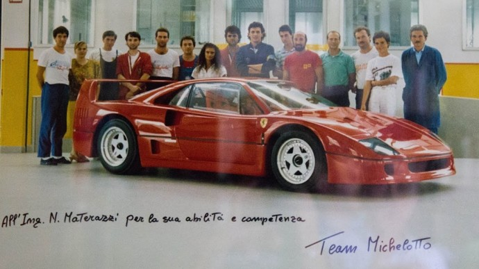 Ferrari F40 prototipas