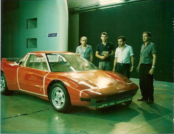 Nicola Materazzi Ferrari gamykloje