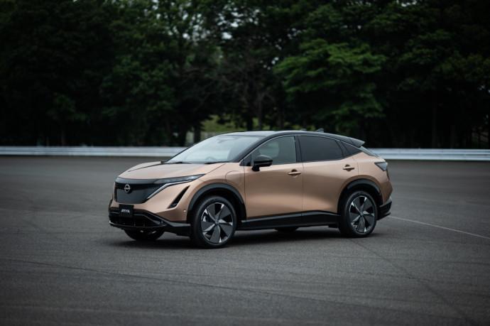 Elektrinis Nissan Ariya
