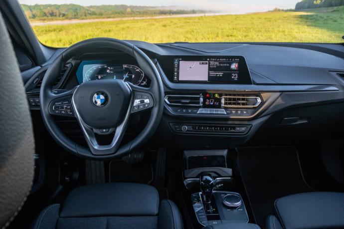 1 serijos BMW testas