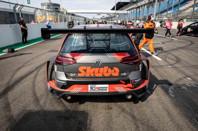 Skuba Racing komandos automobilis