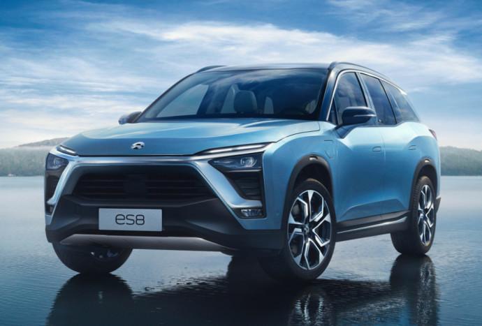 Kinijoje pagamintas elektromobilis