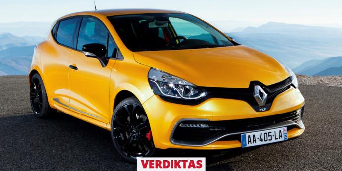 Naudoto Renault Clio R.S. 200 apžvalga