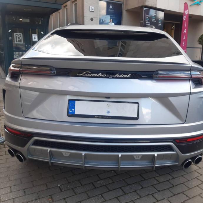 Gatvėje užfiksuotas Lamborghini Urus