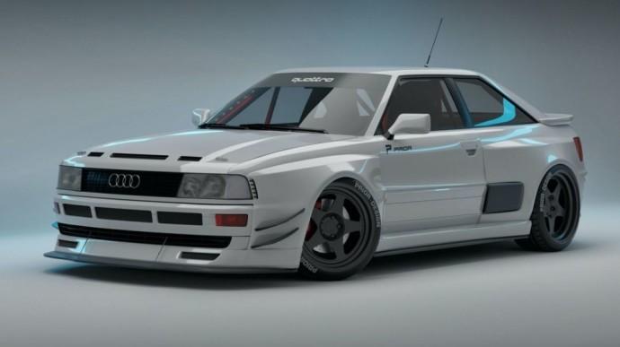Prior Design sukurta Audi RS2 kupė