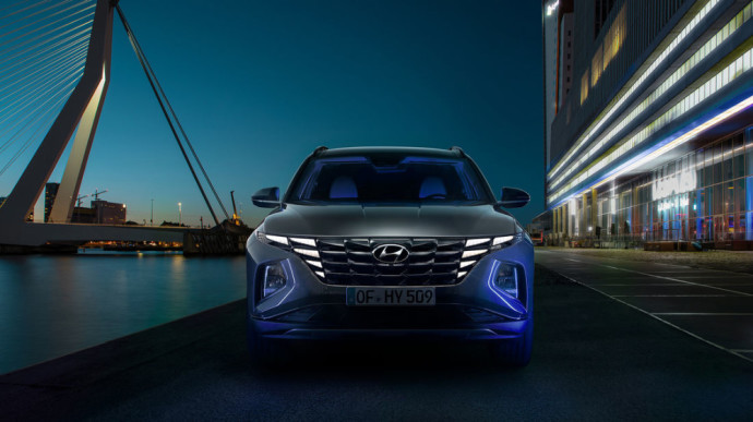 Naujos kartos Hyundai Tucson