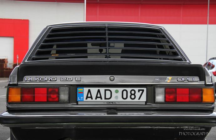 Vilniuje įvykęs Opel susitikimas