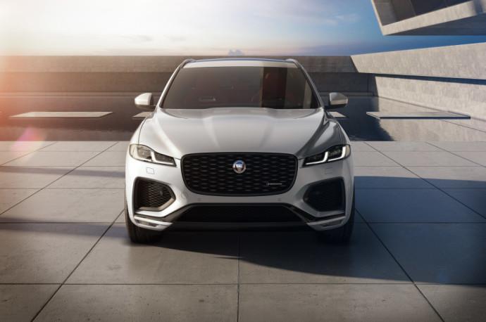Atnaujintas Jaguar F-Pace