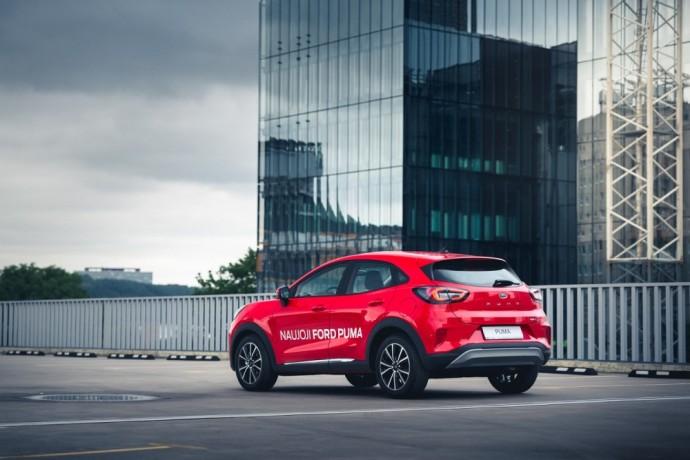 Lietuvoje debiutavusi Ford Puma
