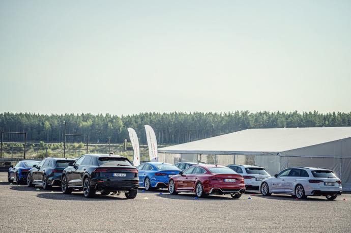 Audi modelių gama