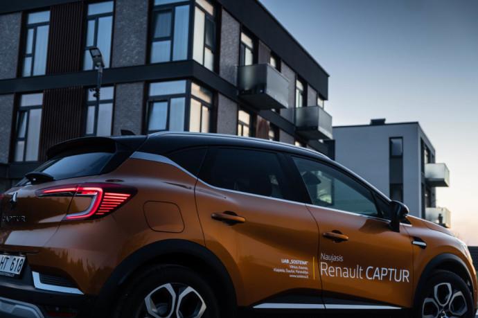 Atsiliepimai apie Renault Captur