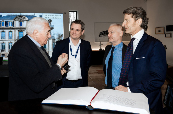 """Romano Artioli su """"Bugatti"""" vadovais"""