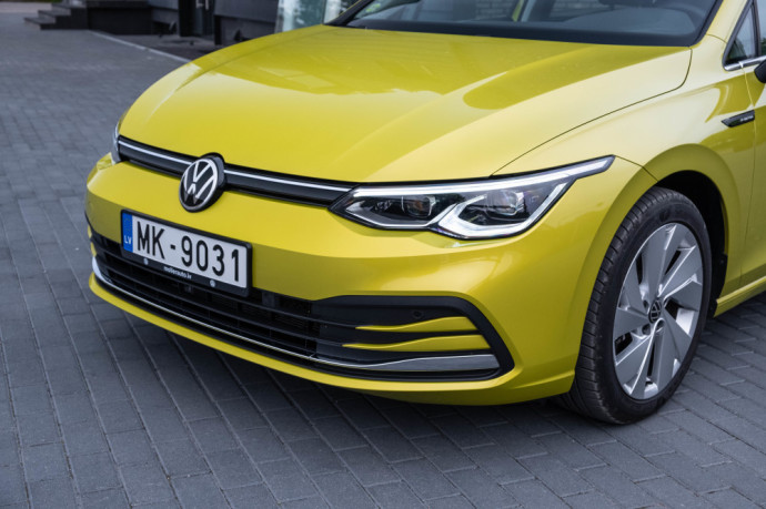 Volkswagen Golf 8 apžvalga