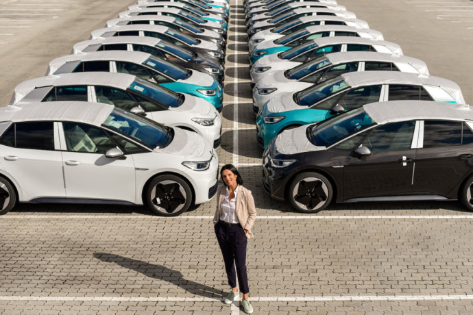 """Volkswagen"" ir ""Audi"" importuotojo Lietuvai vadovė Ilzė Grase-Kibildė."