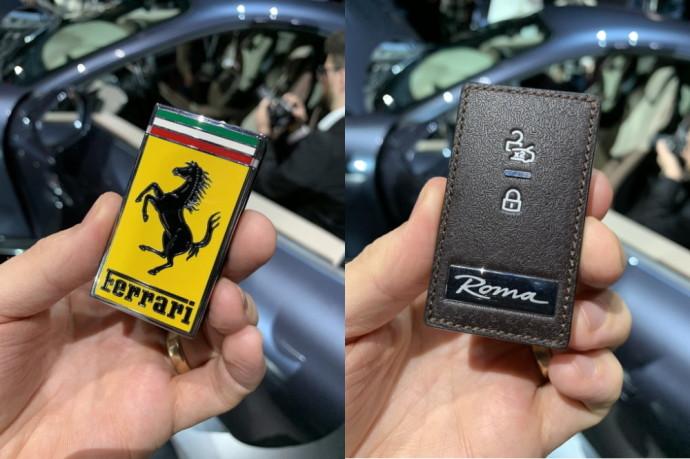 Ferrari Roma raktelis