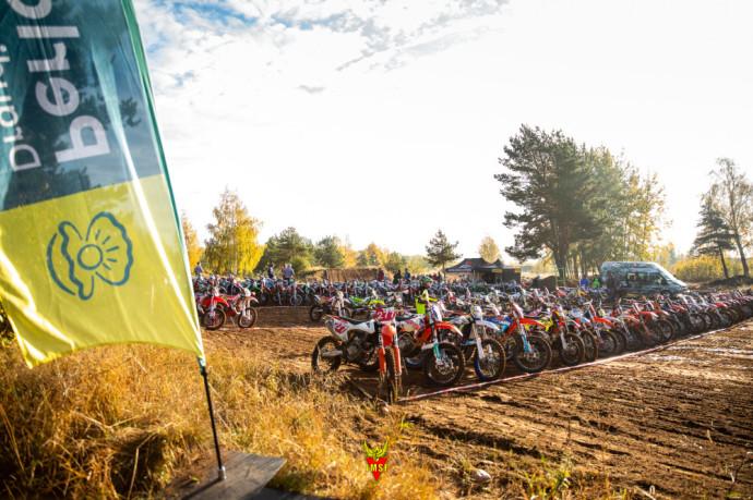 """Lietuvos motociklų """"Cross Country"""" čempionato priešpaskutinis 5-asis etapas."""