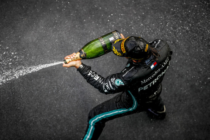 Mercedes-AMG Petronas Motorsport, Eifel GP 2020