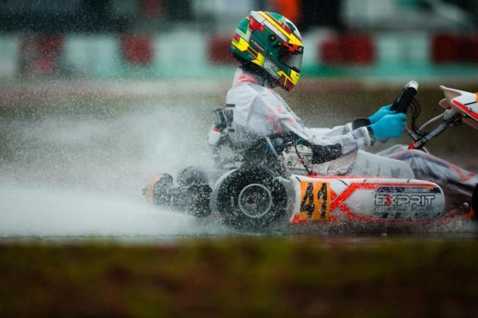 Kajus Šikšnelis Portugalijos Portimao lenktynių trasoje