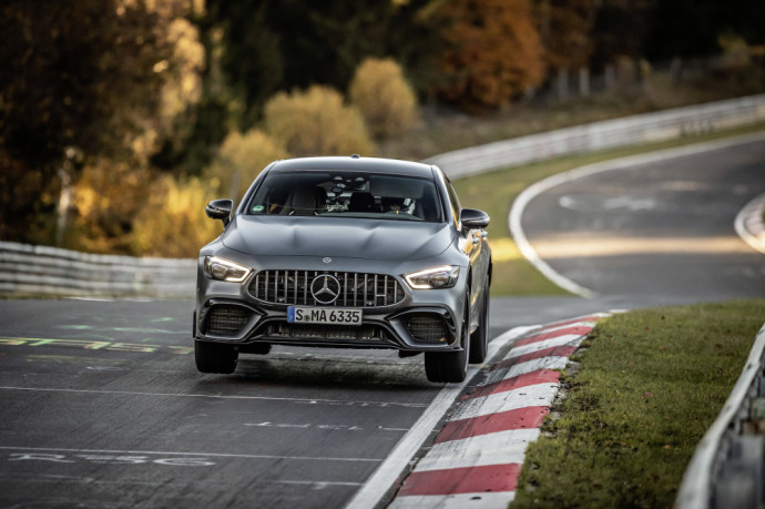 Mercedes-AMG GT 63 S 4MATIC+ set a new record in Nürburgring