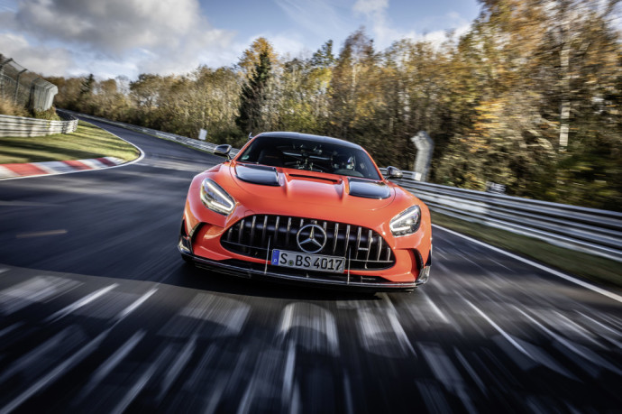 Mercedes-AMG GT Black Series is fastest series production car on the Nürburgring
