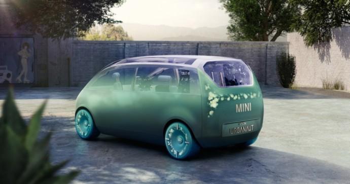 """""""Mini"""" gamintoja pristatė futuristinį koncepcinį modelį"""