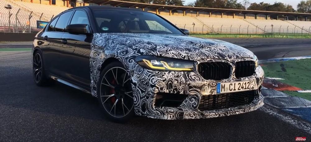 """BMW sukūrė greitesnę """"M5"""" sedano versiją"""