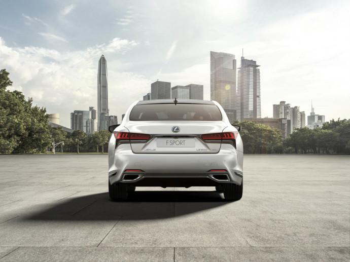 European Premier of the new Lexus LS