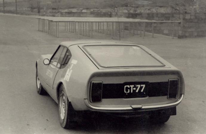 GT-77. Sovietmečiu sukurta kupė