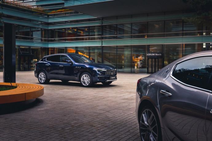 Atnaujintas Maserati Levante