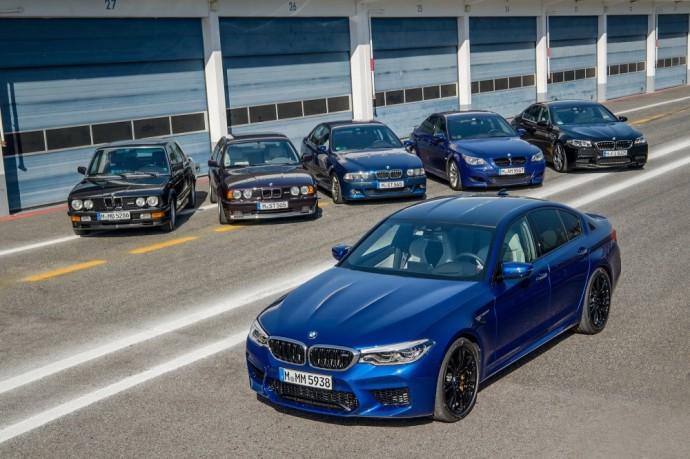 BMW 5 serijos modelių gama