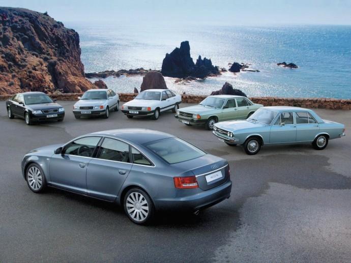 Audi A6 modelių gama