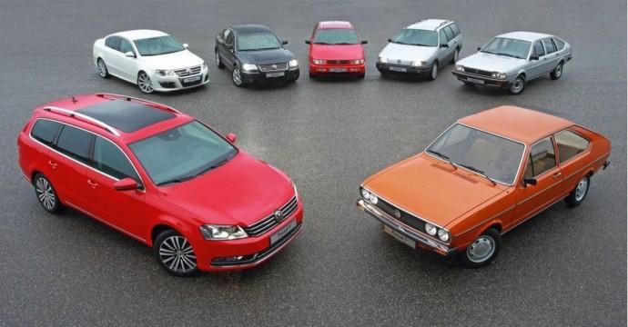 Volkswagen Passat modelių gama