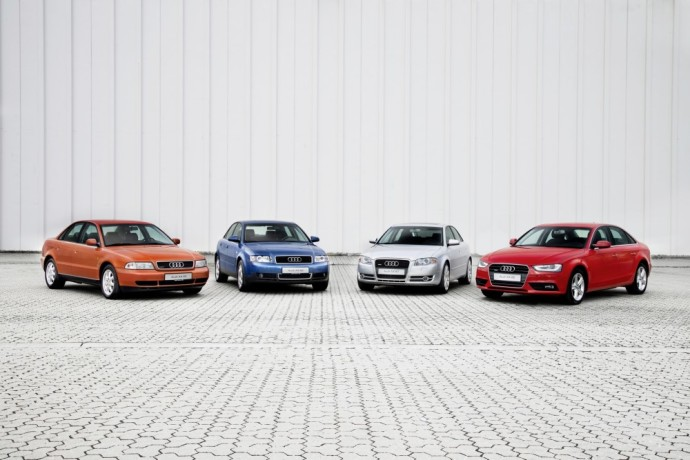 Audi A4 modelių gama