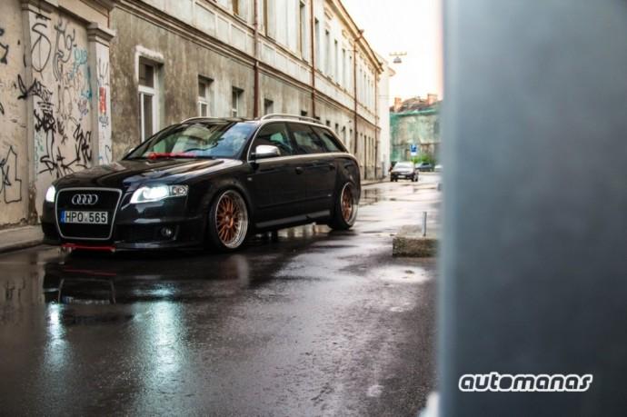 Giedrius už Audi A4 vairo