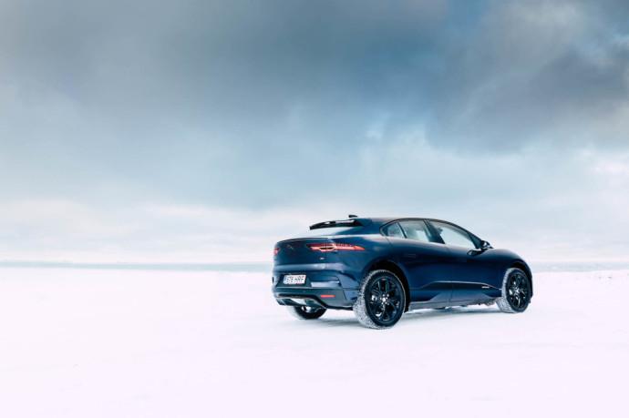 Atnaujintas Jaguar I-Pace elektromobilis