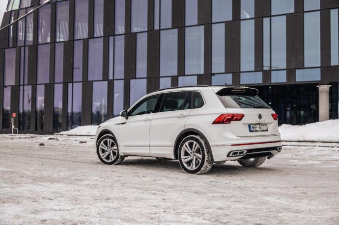 Volkswagen Tiguan apžvalga