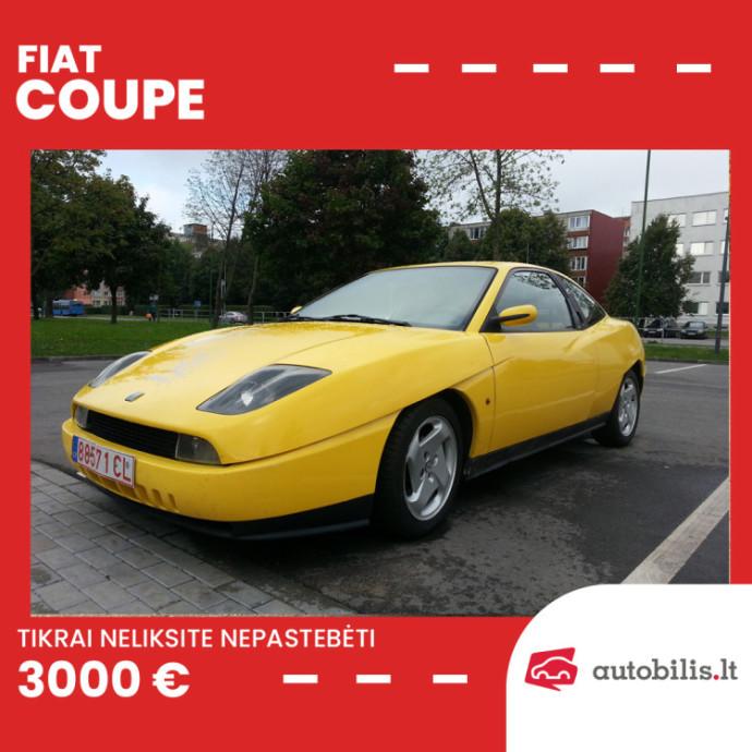 Automanų skelbimai: Fiat Coupe