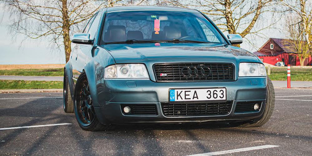 "340 AG turinti ""Audi"""